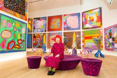 Infinity is a concept that's nearly impossible to grasp, let alone see. But it's one of artist Yayoi Kusama's obsessions. The Japanes
