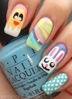 Nouveau Cheap: Easter Manicure Round-Up! (pic heavy)