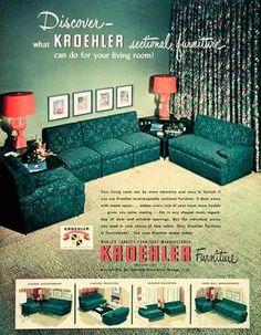 Harrod\'s Department Store vintage ad (1950s) Mid century modern ...