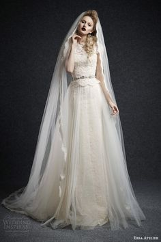 Ersa Atelier Fall 2015 Wedding Dresses | Wedding Inspirasi