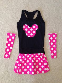 Hot Pink Mouse Inspired running costume with by ThisPrincessRuns, $130.00
