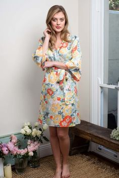 Australian brand Ivy & Matilda designs beautiful handmade silk, lace and cotton voile kimono robes. We specialise in bride and bridesmaid robes. Bridesmaid Robes, Brides And Bridesmaids, Silk Kimono Robe, Bridal Robes, Pure Silk, Matilda, Ivy, High Neck Dress, Pure Products
