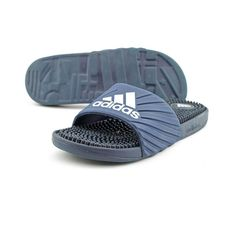 Adidas Voolossage Women US 8 Blue Slides Sandal Pre Owned 2520 in Clothing, Shoes, Accessories, Women's Shoes, Sandals, Flip-Flops | eBay!