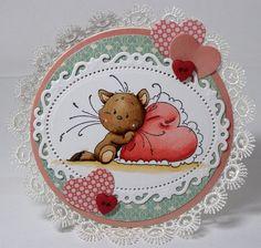 Sylvia Zet: Playful Kittens inspiration by Nanda P.