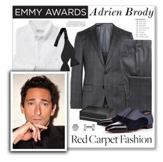"""Adrien Brody"" by mmmartha ❤ liked on Polyvore featuring HUGO, Ralph Lauren Home, Christian Louboutin and David Yurman"