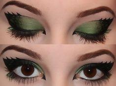 dragon eye make-up Eyeshadow Makeup, Makeup Art, Beauty Makeup, Hair Makeup, Makeup Ideas, Maybelline Eyeshadow, Natural Eyeshadow, Makeup Geek, Makeup Inspo