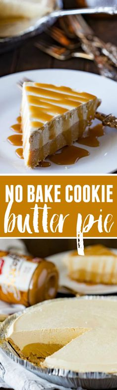 This 5 ingredient Cookie Butter frozen pie will rock your tastebuds and make you one happy camper! Plus it takes less than 15 minutes to make, and an hour to freeze.