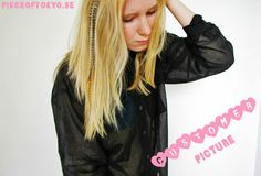 Mooie feather hairextensions