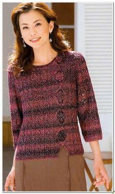 Пуловеры спицами 389
