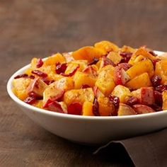 Butternut Squash with Apple and Cranberries -  #ad #AllstarsICBINB