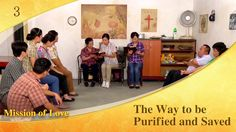 """Gospel Movie clip """"Mission of Love"""" (3) - The Way to be Purified and Saved"""