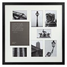 Buy John Lewis Multi-aperture Square Frame, 8 Photo Online at johnlewis.com