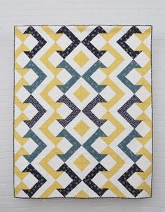 Quilt made exclusively with Small Wonder's India collection, from our new line with Mary Fons!