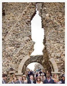 a WOW venue - church ruins UK