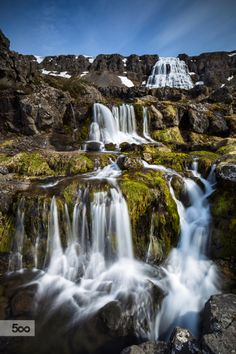 Waterfalls of Dynjandi by Arnar Bergur Guðjónsson | Source