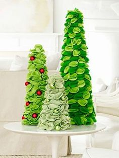 Felt Christmas tree inspiration