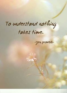Draw & Wings. - To understand nothing takes time. (Zen proverb)...