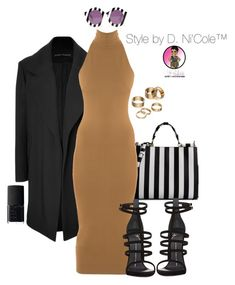 """""""Untitled #2755"""" by stylebydnicole ❤ liked on Polyvore featuring Dolce&Gabbana, Anthony Vaccarello, Torn by Ronny Kobo, House of Holland, Giuseppe Zanotti, NARS Cosmetics and Apt. 9"""