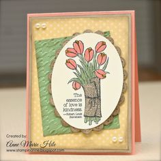 Stampin'  Anne: Love is Kindness for Paper Players #235