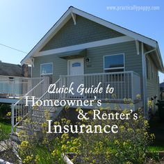Homeowner's Renter's Insurance: What do you need? Use this quick guide to help you through the process. how to buy insurance, insurance buying tips Farmers Insurance Agent, Term Life Insurance, Renters Insurance, Home Insurance, Home Renovation Loan, Short Term Loans, Mortgage Rates, Home Management, Being A Landlord