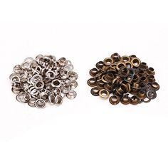 100x Oeillets argenté   bronzé + outil à fixer pour cuir maroquinerie 8mm   Amazon.fr  Cuisine   Maison 3d971444ad7