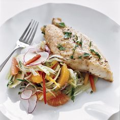 Red Snapper with Citrus and Fennel Salad | Food & Wine