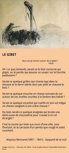 Aloysius Bertrand - Le gibet