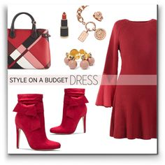 How To Wear Blush to Crimson Outfit Idea 2017 - Fashion Trends Ready To Wear For Plus Size, Curvy Women Over 20, 30, 40, 50