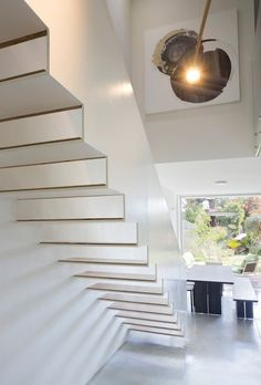 BnB House, Ramat HaSharon, 2014 - arbejazz studio architects #stairs #interiors #white