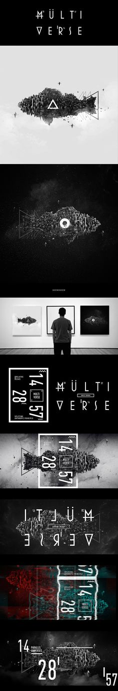 Multiverse:The Poster for a popular science lecture