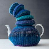 'Wood Fungus' tea cosy - sharing the joy