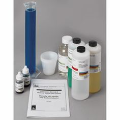 Density of Liquids: The Color Column Kit ~ Chromatography