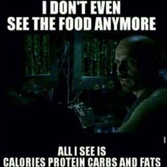 So true. The matrix of food is real. I was just thinking today how amazing it was when I didn't know