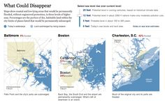 What Could Disappear - NYTimes.com / by Aden Copeland, Josh Keller and Bill Marsh