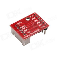 ULN2003 Five Line Four Phase Stepper Motor Driver Module - Red. Color Red Brand N/A Model N/A Quantity 1 Piece Material FR4 English Manual / Spec No Other Features 1. Onboard motor driver chip ULN2003A; 2. The chip frequently-used pin leads out for easy connection; 3. On-board 4-way signal indicator. Packing List 1 x Stepper motor driver module. Tags: #Electrical #Tools #Arduino #SCM #Supplies #Motors