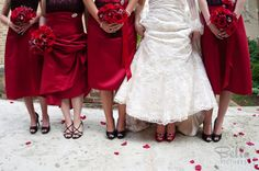 All the bridesmaid shoes