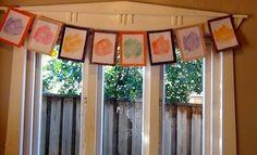 Autumn Leaf Garland - Art And Craft - Autumn Crafts