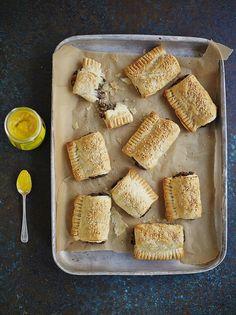 Vegan mushroom rolls (Jamie Oliver)