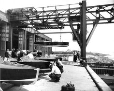 Here are some of the archival images we've been looking at for an upcoming story marking the 85th anniversary of the Dodge Boat works in Newport News: http://bit.ly/1fFUvlN -- Mark St. John Erickson