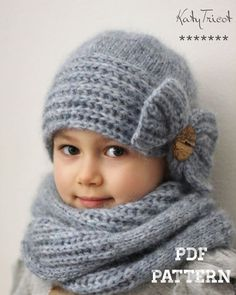It is a KNITTING PATTERN ONLY, not the actual hat & scarf, so that you can make the item yourself with your own choice of yarn and color. NOTE: Patterns are a final sale, due to their digital nature they cannot be returned or refunded. This pattern is available in ENGLISH and RUSSIAN