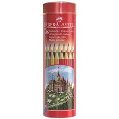 Buntstift Castle in Sechskantform 36er Metallrunddose Ca. 19,95€