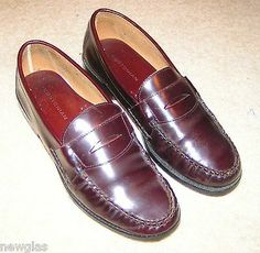BOSTONIAN ~ ~ Penny Loafers ~ ~ ~ ~ Leather ~ ~ gently used ~ ~ ~ ~ ~medium in Clothing, Shoes & Accessories, Men, Men's Shoes, Casual Shoes Mens Loafers Shoes, Black Leather Loafers, Leather Cap, Casual Slip On Shoes, Slip On Dress Shoes, Cap Toe Shoes, Men's Shoes, Penny Loafers, Medium