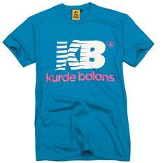 Koszulka Kurde Balans niebieska