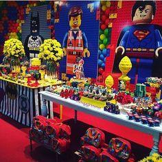 Festa Lego Movie. Pic via @flavor_festas #encontrandoideias #blogencontrandoideias #fabiolateles Parceiros @luciaperazzo @ninha_marques @pirlimkids