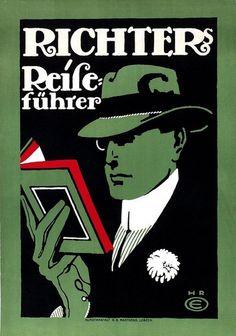 "Hans R. Erdt: ""Richter's Travel Guides"" (1915)"