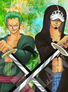 Zoro and Law    _One Piece
