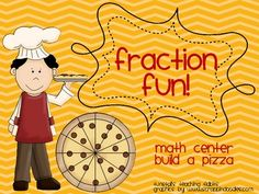 This would be a GREAT center activity! I LOVE the recipe cards!