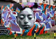 TKV · Lortek (Walls of Belgrade) Tags: streetart graffiti stencil mural serbia spraypaint belgrade beograd tkv lortek Belgrade, World Best Photos, Spray Painting, Cool Photos, Stencils, Graffiti, Walls, Templates, Stenciling