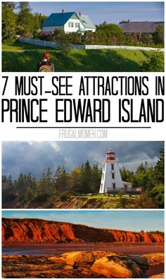 7 Must-See Attractions in Prince Edward Island whether travelling solo or on a family travel vacation in Canada! 7 Must-See Attractions in Prince Edward Island whether travelling solo or on a family travel vacation in Canada! Cool Places To Visit, Places To Travel, Travel Destinations, Places To Go, Voyager Seul, Voyager Loin, East Coast Travel, East Coast Road Trip, Prince Edward Island