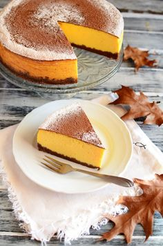 Cheesecakes, Yummy Cakes, Panna Cotta, Cake Recipes, French Toast, Food And Drink, Pumpkin, Sweets, Snacks